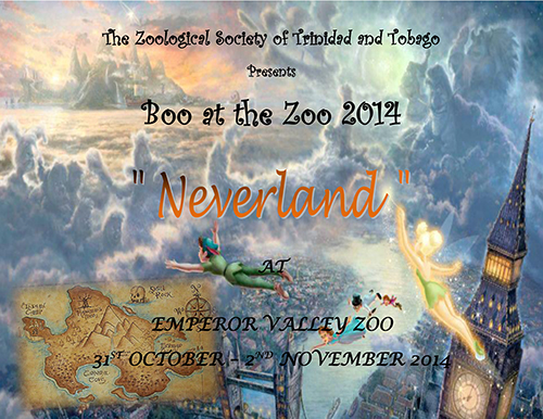 Boo at the Zoo 2014 Flyer